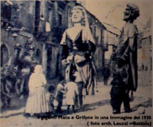 Seminara - I giganti Mata e Grifone